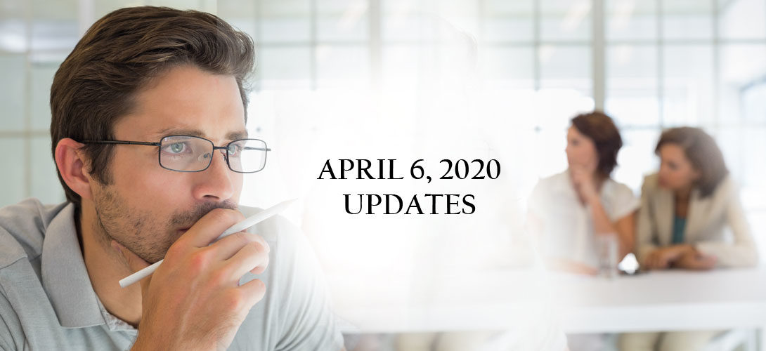 April 6th Updates